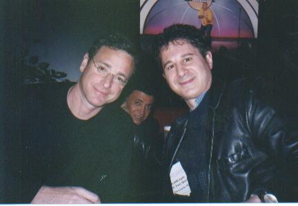 Bob Saget & me