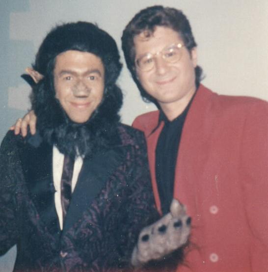 Gilbert Goddfried & me