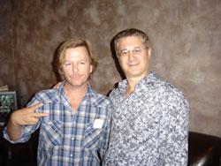 David Spade & me